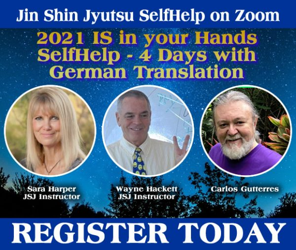 2021 IS in your Hands - 4 Days of SelfHelp with German Translation