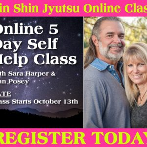 Sara Harper & Stan Posey Online Jin Shin Jyutsu 5 Day Self Help Class Begins October 2020