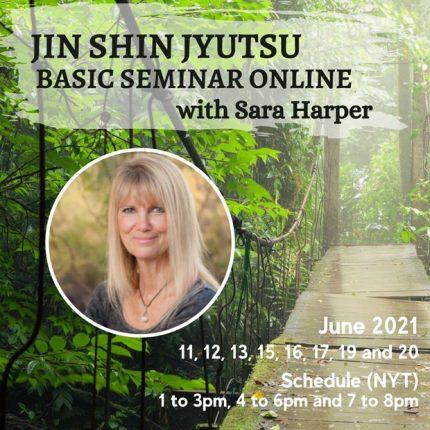Jin Shin Jyutsu Online Basic Seminar with Sara Harper