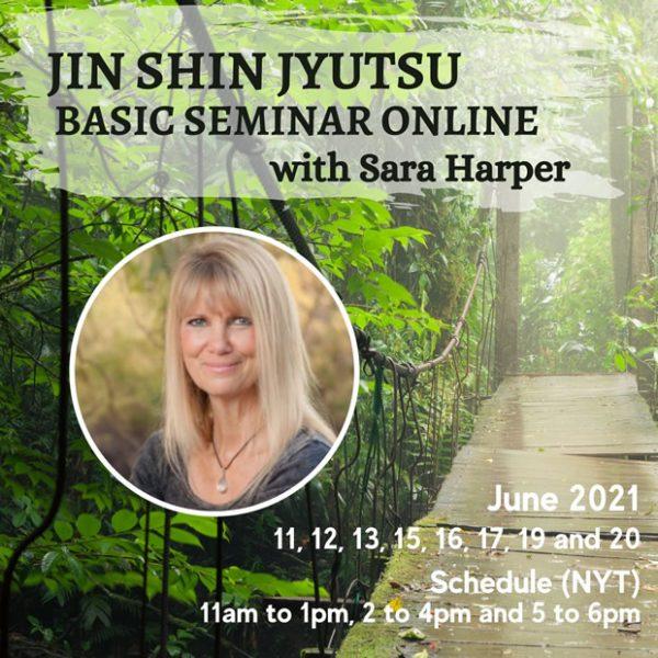 Jin Shin Jyutsu Online Basic Seminar with Sara Harper - Begins June 11th