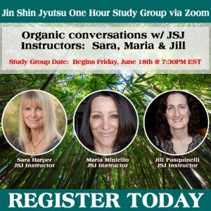 One hour Study Groups w/ Sara, Jill and Maria